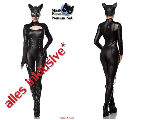 80037 Hot Catwoman Komplettset von MASK PARADISE