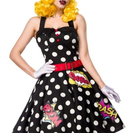 80055 Pop Art Kostüm Pop Art Girl von Mask Paradise