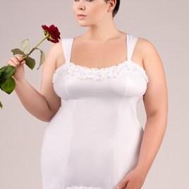 E/2021 weißes Kleid von Andalea Dessous