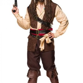 80112 Piratenkostüm Captain Jack für Herren von MASK PARADISE