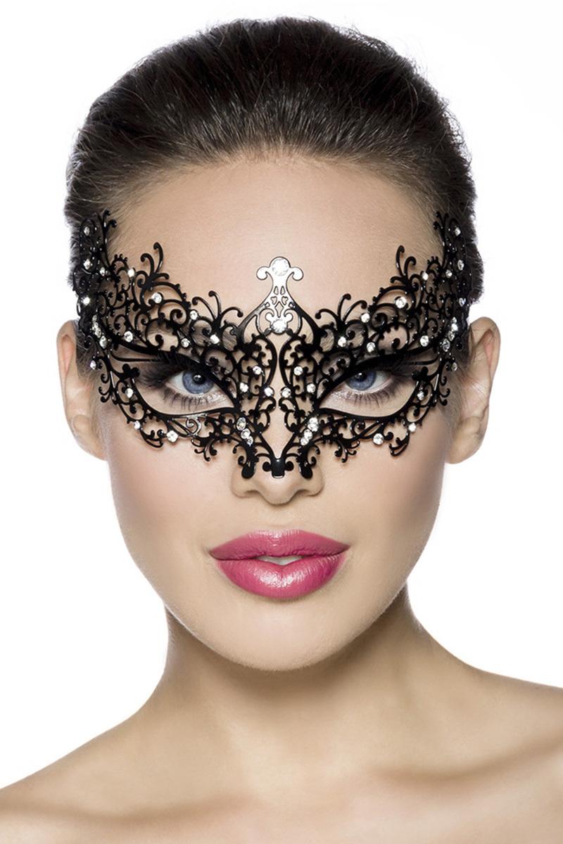 13577 Metallmaske / Augenmaske