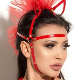 Rote Kopfmaske MK 18 von MeSeduce