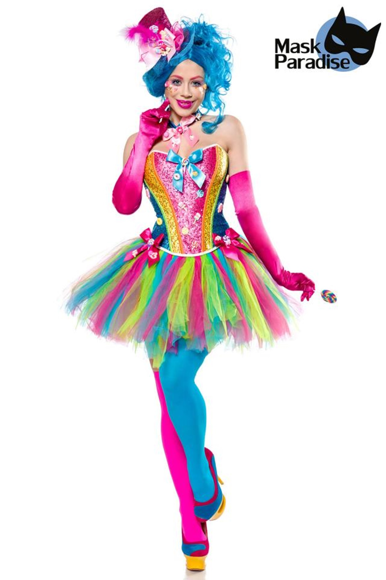 ieltes Candy Girl Kostüm von MASK PARADISE  EAN: 4251302137734