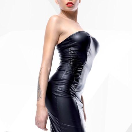 Schwarzes Kleid Ellen von Demoniq Hard Candy Collection 5902767392785,5902767392792,5902767392815,5902767392822,5902767392808,