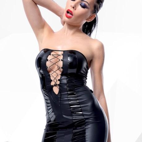 schwarzes Minikleid Irma von Demoniq Hard Candy Collection  5902767392839,5902767392846,5902767392853,5902767392860,
