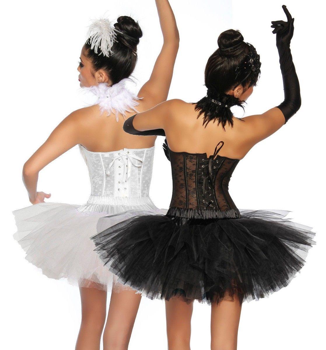 13173 Tutu-Petticoat weiß oder schwarz