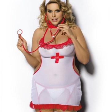 Anais Shane Krankenschwester-Kostüm