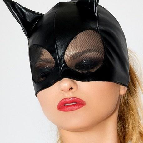 MK 01 schwarze Katzenmaske von MeSeduce EAN: 5901854504391