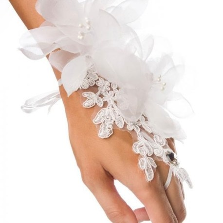 14400 floraler weißer Handschmuck EAN: 4250738667273