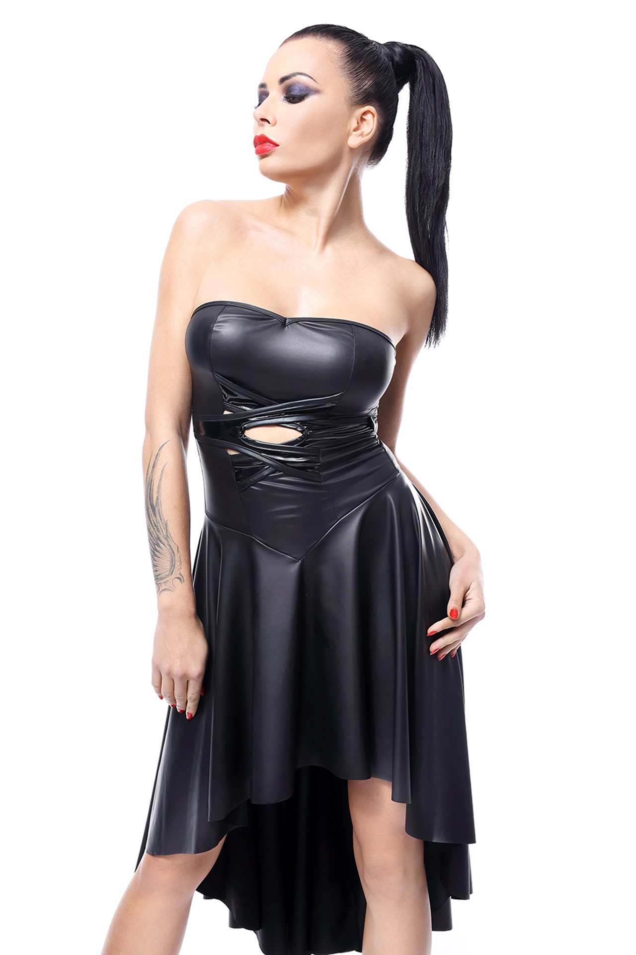 DE438 schwarzes Kleid von Demoniq Hard Candy Collection EAN: 5902767394390
