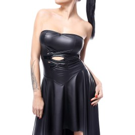 DE438 schwarzes Kleid von Demoniq Hard Candy Collection