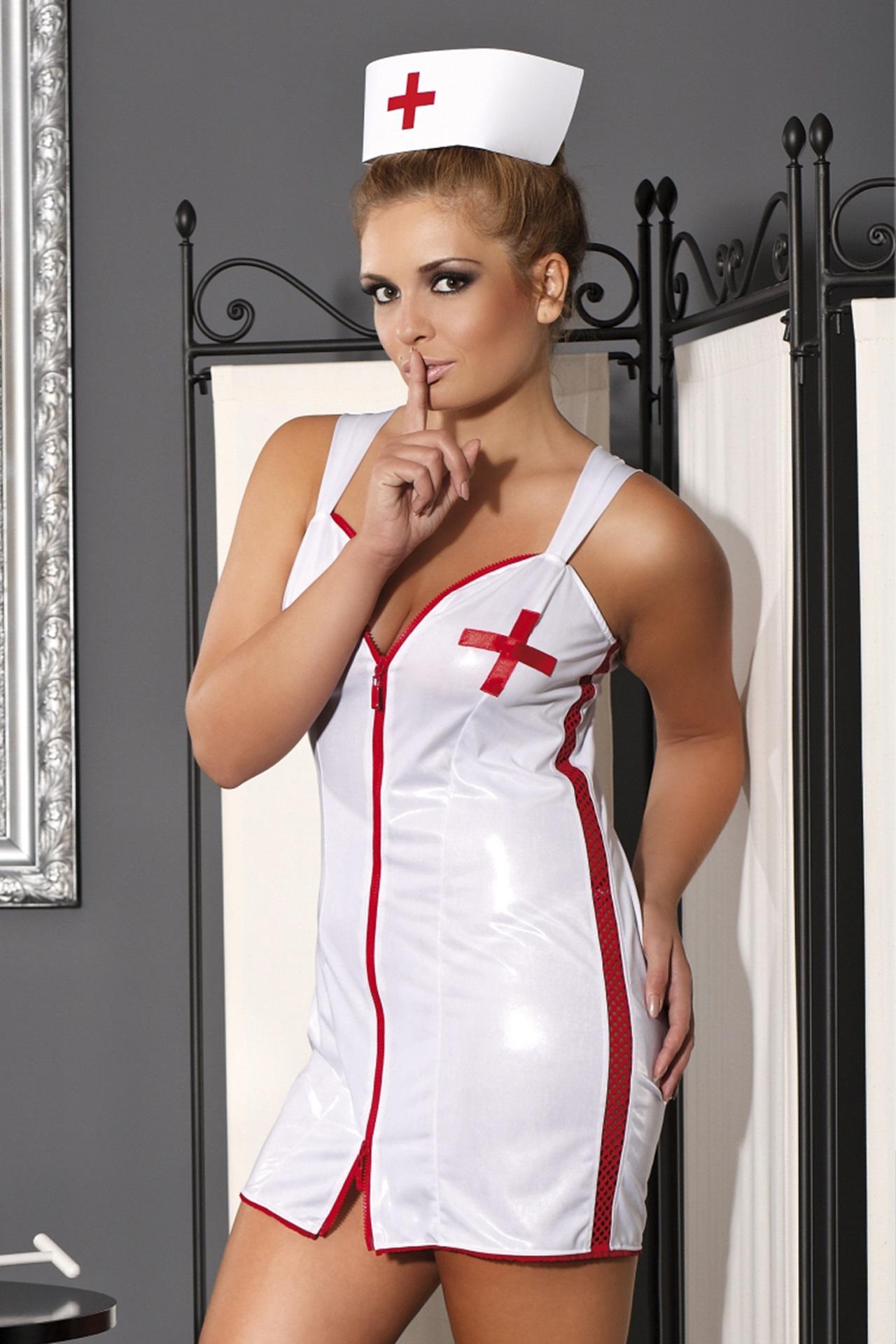 M/1047 Krankenschwester Outfit Sensuale Nurse von Andalea Dessous