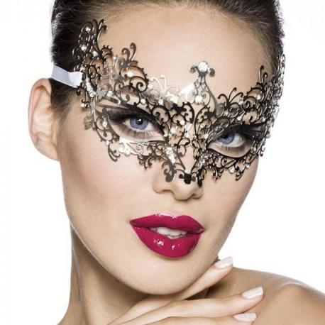 13582 Venezianische Gesichtsmaske / Metallmaske EAN: 4250738638778