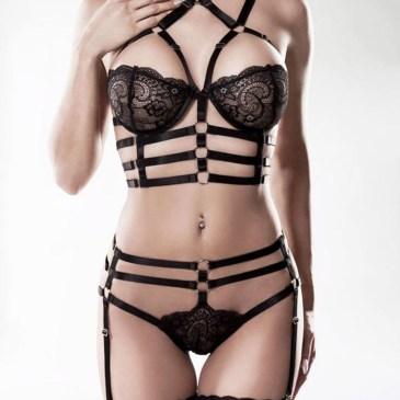 15231 2-teiliges Harness Set von Grey Velvet