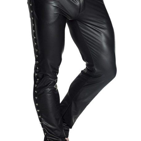 H039 Schwarze lange Hose von Noir Handmade EAN5902175344574 (5)