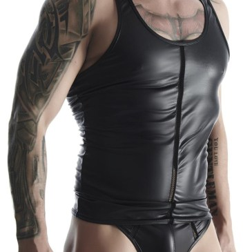 TSH003 Muscle-Shirt schwarz von Regnes Fetish Planet