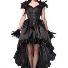 80158 Gothic Crow Lady von MASK PARADISE