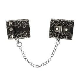 A747 Handschellen silber/schwarz von Obsessive – 5901688228432