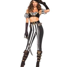Black Beauty Pirate Sexy Kostüm – Halloween und Karneval