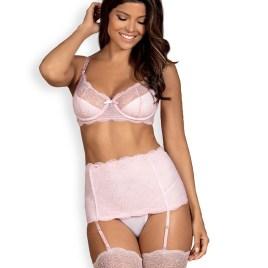 Girlly Set weiß/rosa von Obsessive – 5901688228005