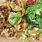 Gesunde Jause: Mediterrane Muffins