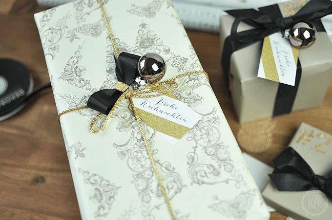 Weihnachtsgeschenke verpackt