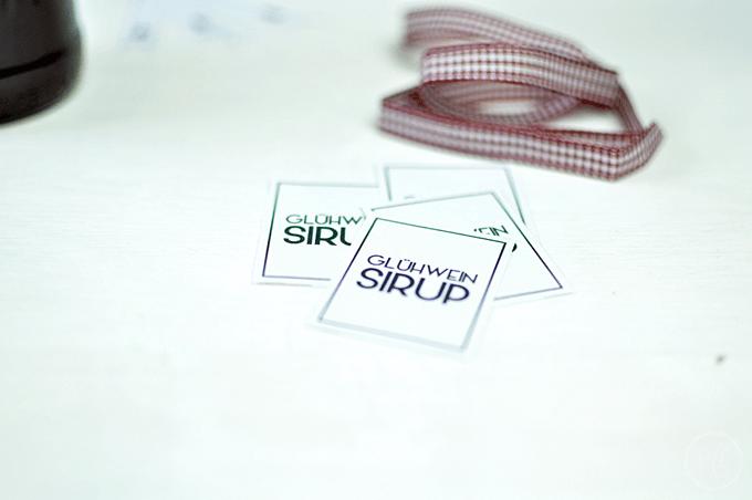 Glühwein Sirup Verpackung