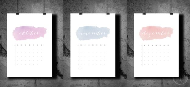 Kalender 2015 Freebie