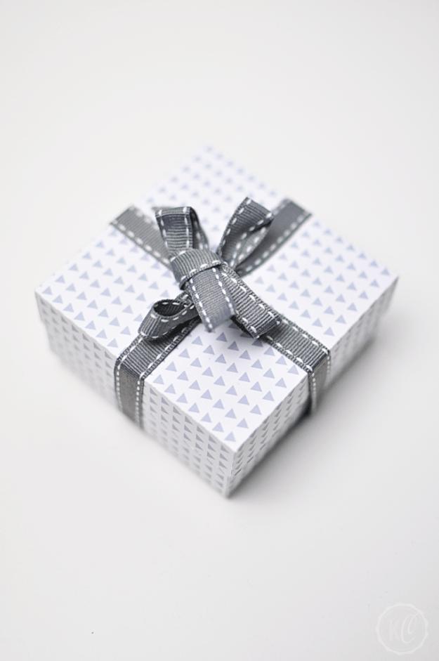 Geschenkbox aus Papier DIY