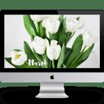 März Wallpaper Background iMac