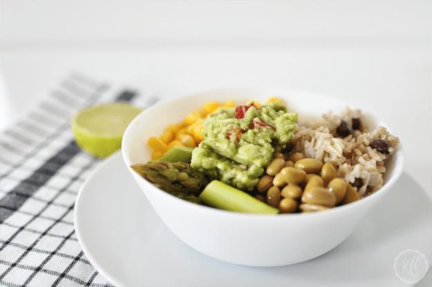 Rice Bowl das perfekte Restlessen