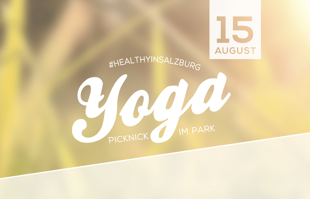 #healthyinsalzburg Yoga-Picknick im Park