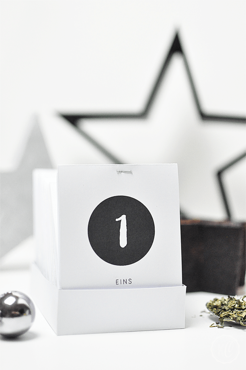 DIY Tee-Adventskalender