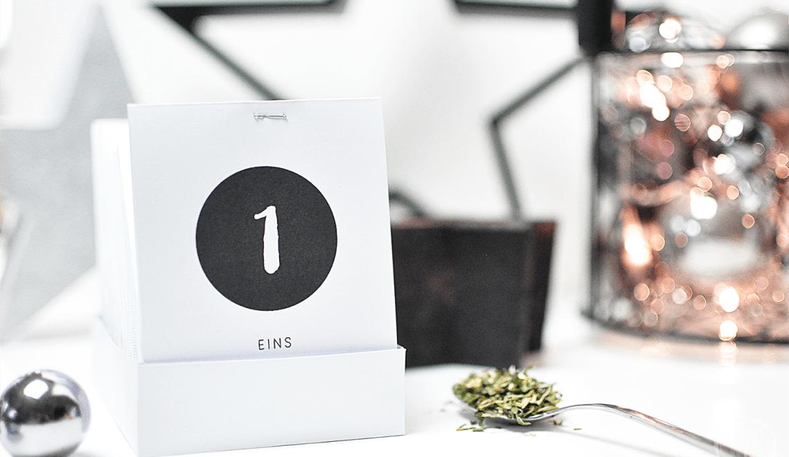 DIY: Tee-Adventskalender