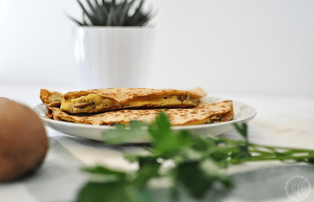 Vegane Quesadillas mit Quinoa-Wraps