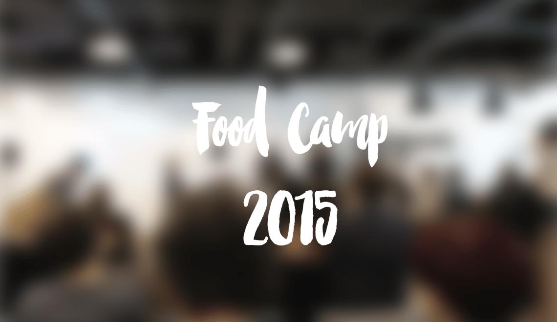 Meine Eindrücke vom Food Camp 2015 in Wien #foodvie