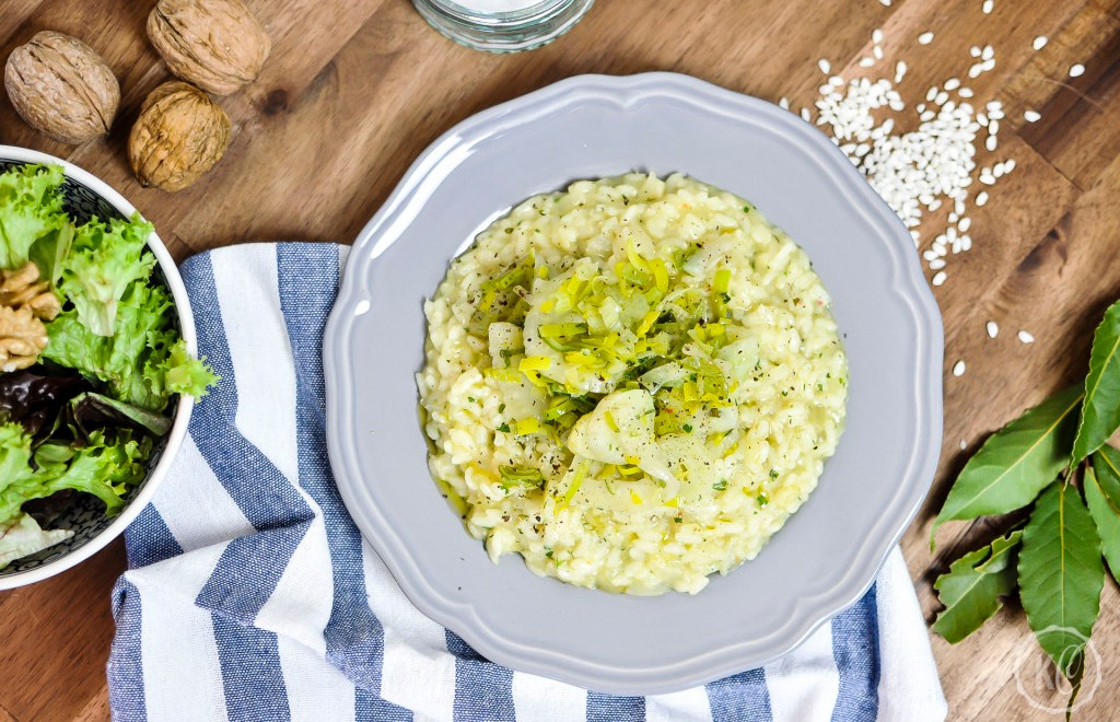 Fenchel-Lauch-Risotto