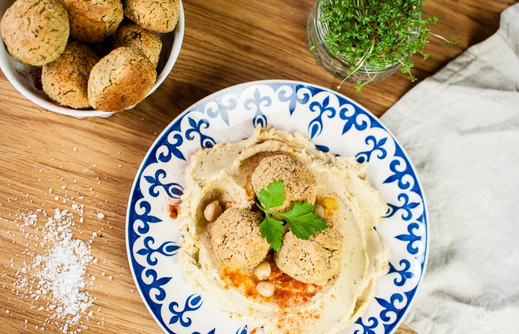 Knusprig gebackene Falafel