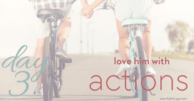 The 5 Day Love Challenge: Day 3 41 Ways to Love Your Man with Actions!