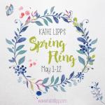 Spring Fling Starts Monday! Join Me!