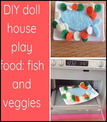 Doll house food Blogger's Pit Stop #237