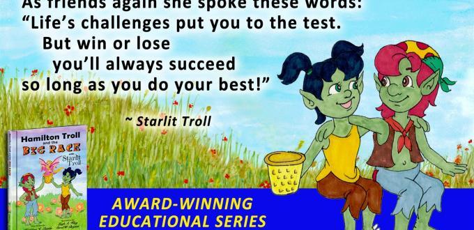 Award Winning Author Kathleen J Shields educational books hamilton troll