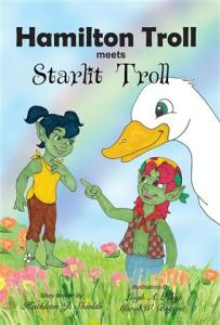 Hamilton Troll meets Starlit Troll by Kathleen J. Shields