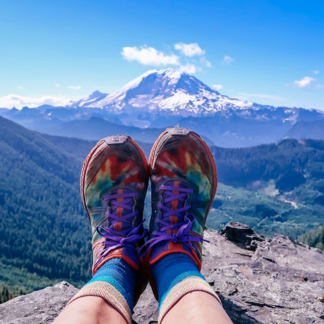 Salomon Odyssey Triple Crown Magic at Mt Rainier