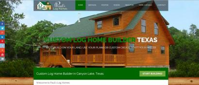 Paul's Log Homes