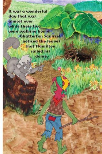 Tell me about your tree stump. hamilton troll books kathleen j shields author