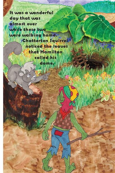 Tell me about your tree stump. hamilton troll books kathleen j shields author