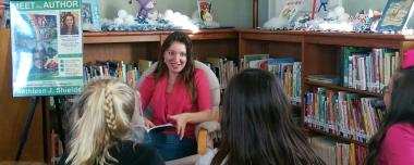 Author Visits Schools, Scouts and Groups
