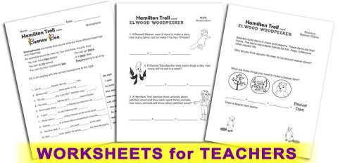 Hamilton Troll Curriculum - Worksheets for Teachers & Homeschoolers