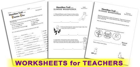 Hamilton Troll Curriculum - Worksheets for Teachers & Homeschoolers